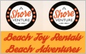 A Shore Venture, Beach Toy Rentals, Beach Adventures