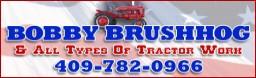 Bobby Brushhog & Tractor Work