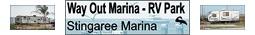 Way Out Marina & RV Park, Crystal Beach Texas