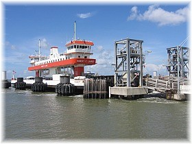 TxDOT Ferry Operations, Ferry Wait Times, Bolivar-Galveston Ferry Schedule, Alternate Route - to Avoid Ferry, New Boat on the way, Ferry Camera - see how long the line is,
