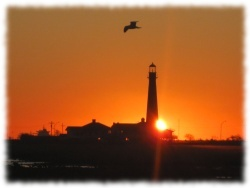 Bolivar Lighthouse at Sunrise, December 2009