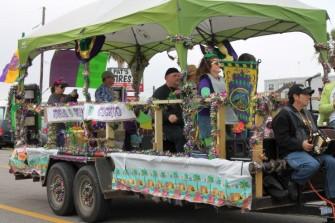 2013 Mardi Gras Parade, Crystal Beach, Texas