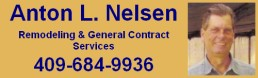Anton L. Nelsen, General Contracting Services